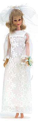 Francie wearing Dreamy Wedding