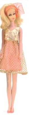 No Bangs Francie wearing Gold Rush #1222 (1969 - 1970)