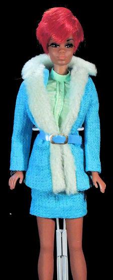 Julia wearing Brr-Furr
