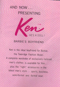 Ken introductory page in 1961 Booklet