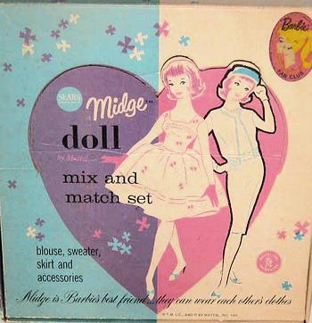 1964 Midge Mix 'n Match Set