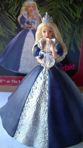 1999 Millennium Princess Barbie Ornament
