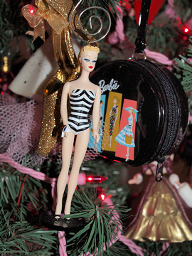 #1 Barbie Ornament