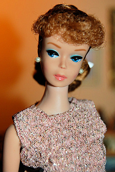 Number 6 Ponytail Vintage Barbie Doll  1962 - 1964