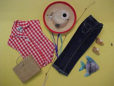 Vintage Barbie Picnic Set
