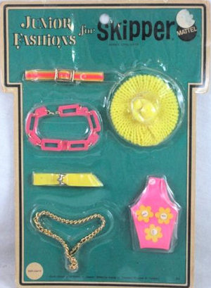 Vintage Skipper Side Lights (1970 Fashion Pak)