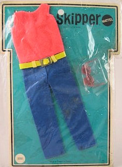 Vintage Skipper Summer Slacks (1970 Fashion Pak)