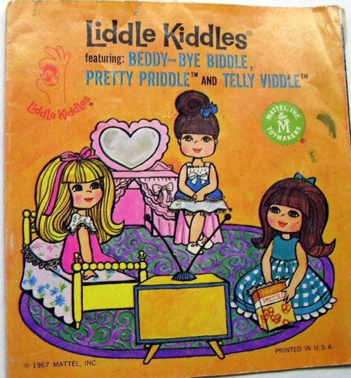 Telly Viddle Liddle Kiddle Book