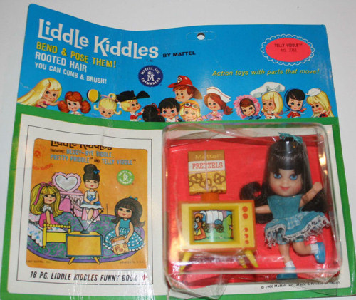 Telly Viddle Liddle Kiddle New on Card
