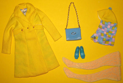 Barbie Sears Exclusive The Yellow Go 1967