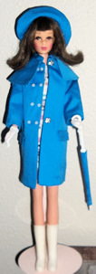 Japanese Francie Raincoat