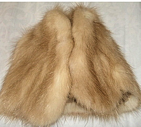 Sears Exclusive Vintage Barbie Genuine Mink Stole