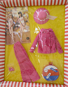 NRFB Japanese vintage Barbie ensemble - sold for $2689 dec 2012
