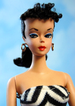 #2 brunette ponytail Barbie