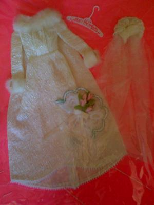 Vintage Barbie Wedding Dress