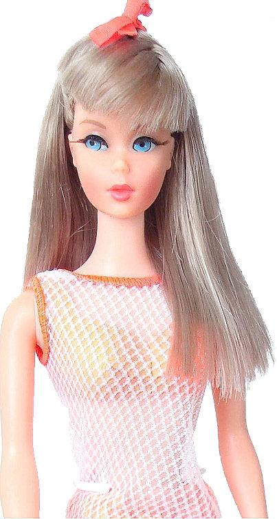Vintage Barbie Stacey Doll Sun Kissed Platinum Blonde Twist N Turn 1967 Color   eBay
