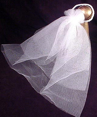 Vintage Barbie Wedding Day Veil