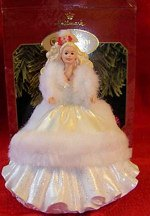 1997 1989 Happy Holidays Collectors Club Edition Barbie Ornament
