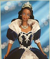 1999 Millennium Princess African American Barbie