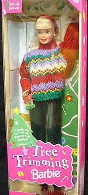 1999 Tree Trimming Barbie