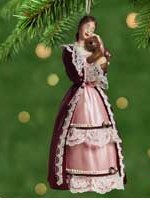 2001 Victorian Barbie Ornament