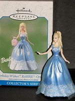 2003 Birthday Wishes Barbie #3 Ornament