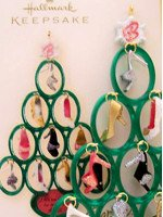 2008 Barbie Shoe Tree Ornament