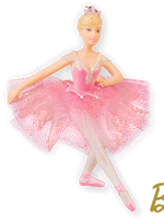 Barbie Prima In Pink Ballerina Ornament