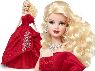 Blonde 2012 Holiday Barbie Doll