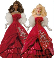 2012 Hallmark Holiday Barbie Ornament
