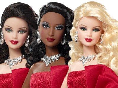 2012 Holiday Barbie Dolls