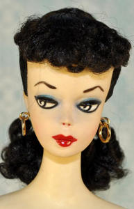 #1 Brunette Ponytail Barbie 1959