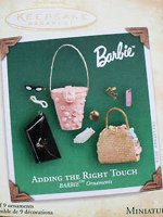 Adding the Right Touch Barbie Ornament