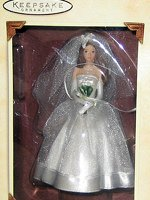 Barbie Blushing Bride Ornament