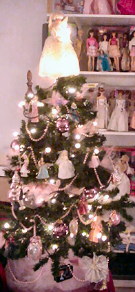barbie hallmark christmas tree ornaments