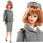 2010 Barbie Pan Am Stewardess Reproduction
