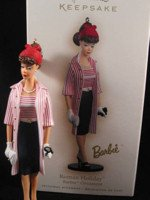 2007 Barbie Roman Holiday Ornament