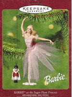 Barbie Sugar Plum Princess Ornament