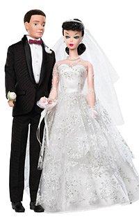 2009 Ken & Barbie Wedding Day Gift Set