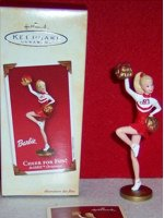 Cheer for Fun Barbie Ornament