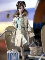 Continental Holiday Barbie Giftset