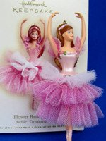Flower Ballerina Barbie Ornament