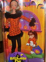 Halloween Fun Barbie & Kelly Set