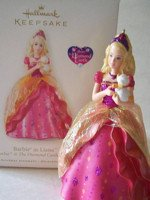 Barbie as Liana Ornament
