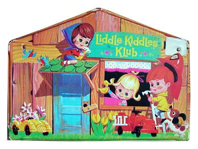 Little Kiddles Klub House Case