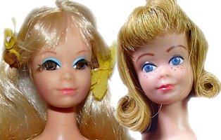 PJ and Midge - they had the same head mold