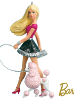 Posh Pair Barbie Ornament