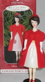 Silken Flame Barbie Ornament