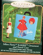 Silken Flame Case Barbie Ornament