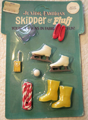 Skipper Action Fashions (1971 Fashion Pak) NRFB